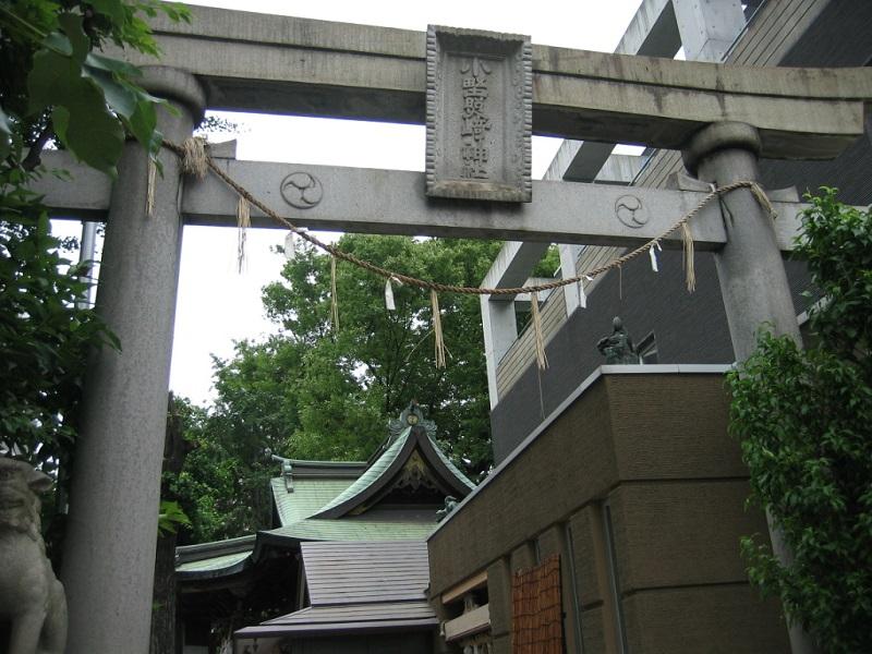 小野照崎神社_鳥居