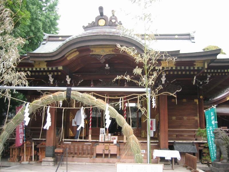 下谷神社_拝殿