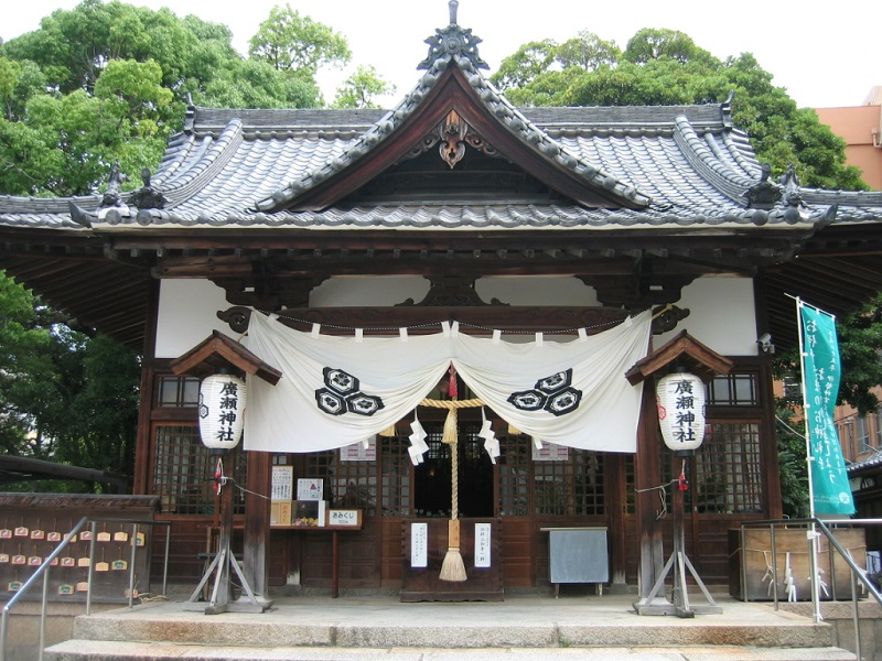 廣瀬神社_拝殿