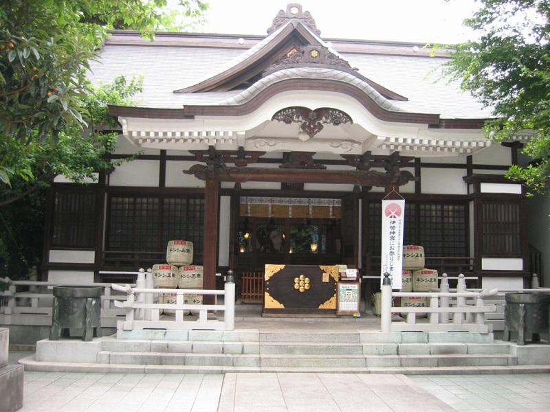 鳥越神社_拝殿
