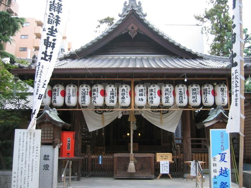 空鞘稲生神社_拝殿