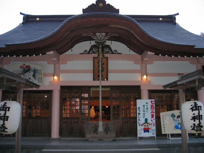 龍城神社_拝殿