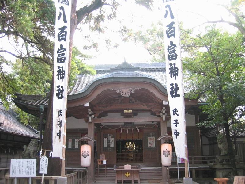 八百富神社_拝殿