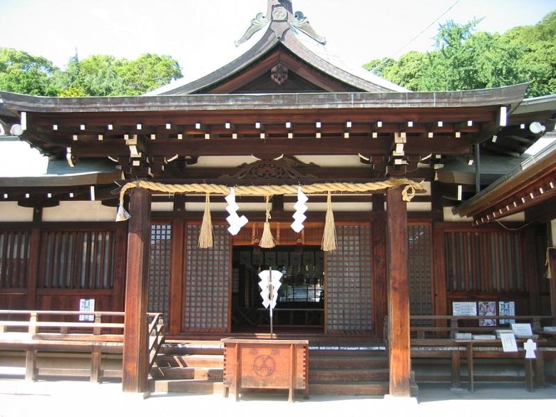 鶴羽根神社_拝殿